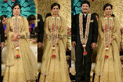 Rajendra Prasad Son's Balaji Gadde and his bride
