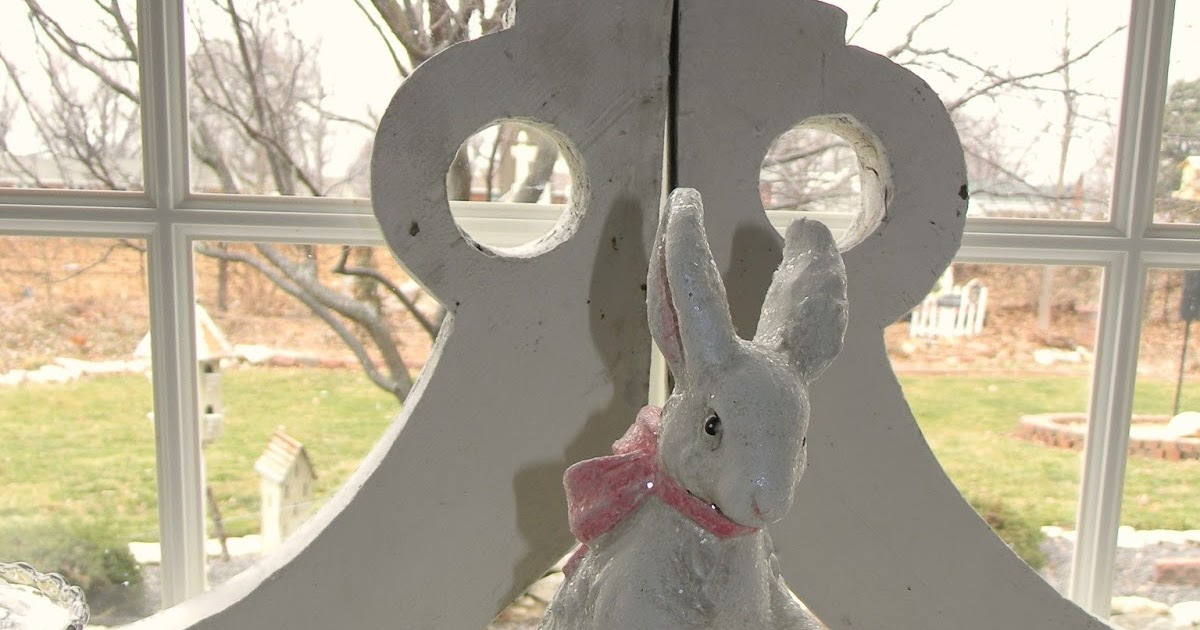 Forever Decorating!: Easter Decor + Architectural Salvage