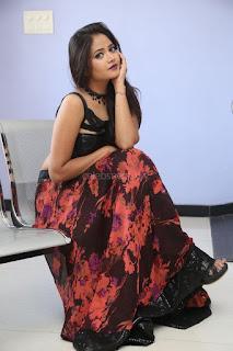 Shriya Vyas in a Tight Backless Sleeveless Crop top and Skirt 112.JPG