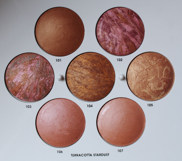 Teracotta Sturdust 101, 102, 103, 104, 105, 106, 107 - SWATCHEVI