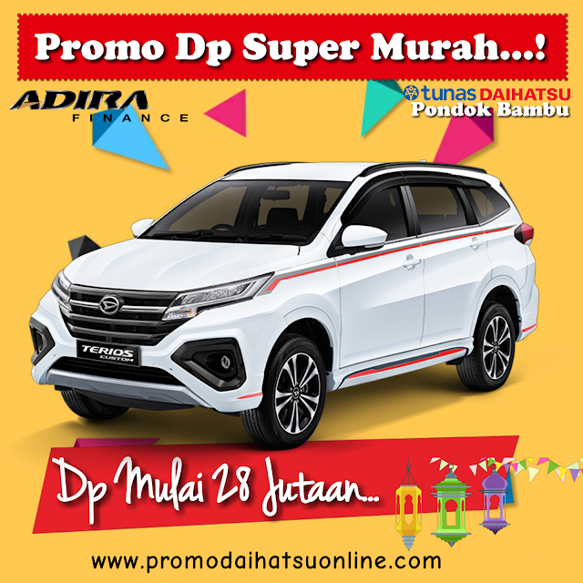 promo terios dp super murah