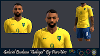 PES 2013 Face Gabriel Barbosa By PieroU10