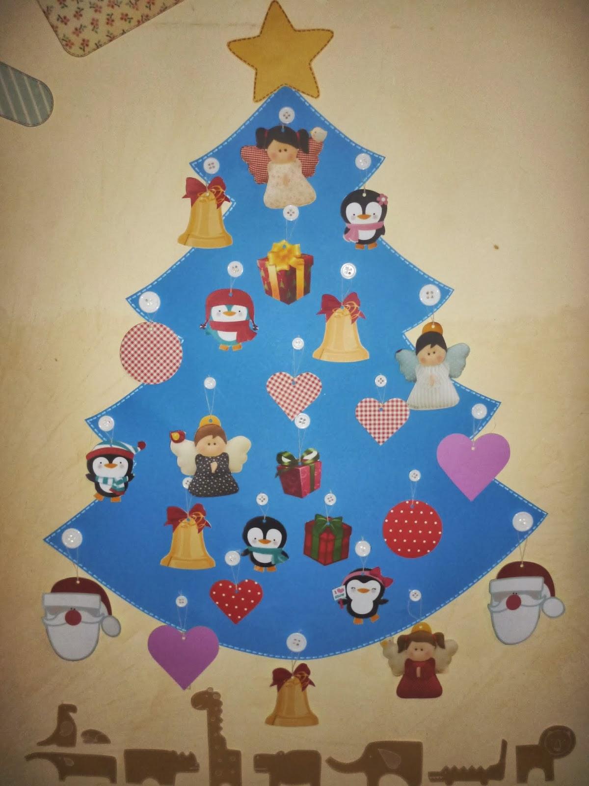Decorazioni Natalizie Cartoncino.Cartoncino Mio Natale In Casa