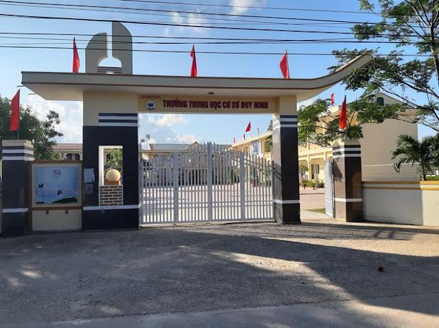 Trường THCS Duy Ninh