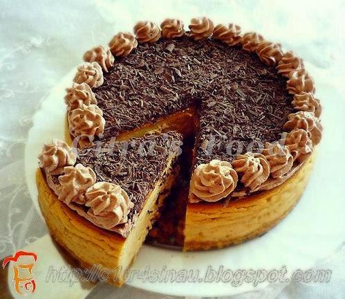 Chocolate Tiramisu Cheesecake