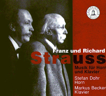 Franz Joseph Strauss (1822-1905) - Music for Horn and Piano
