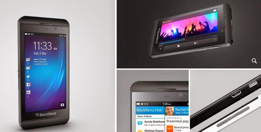 Fitur dan Spesifikasi Blackberry Z10