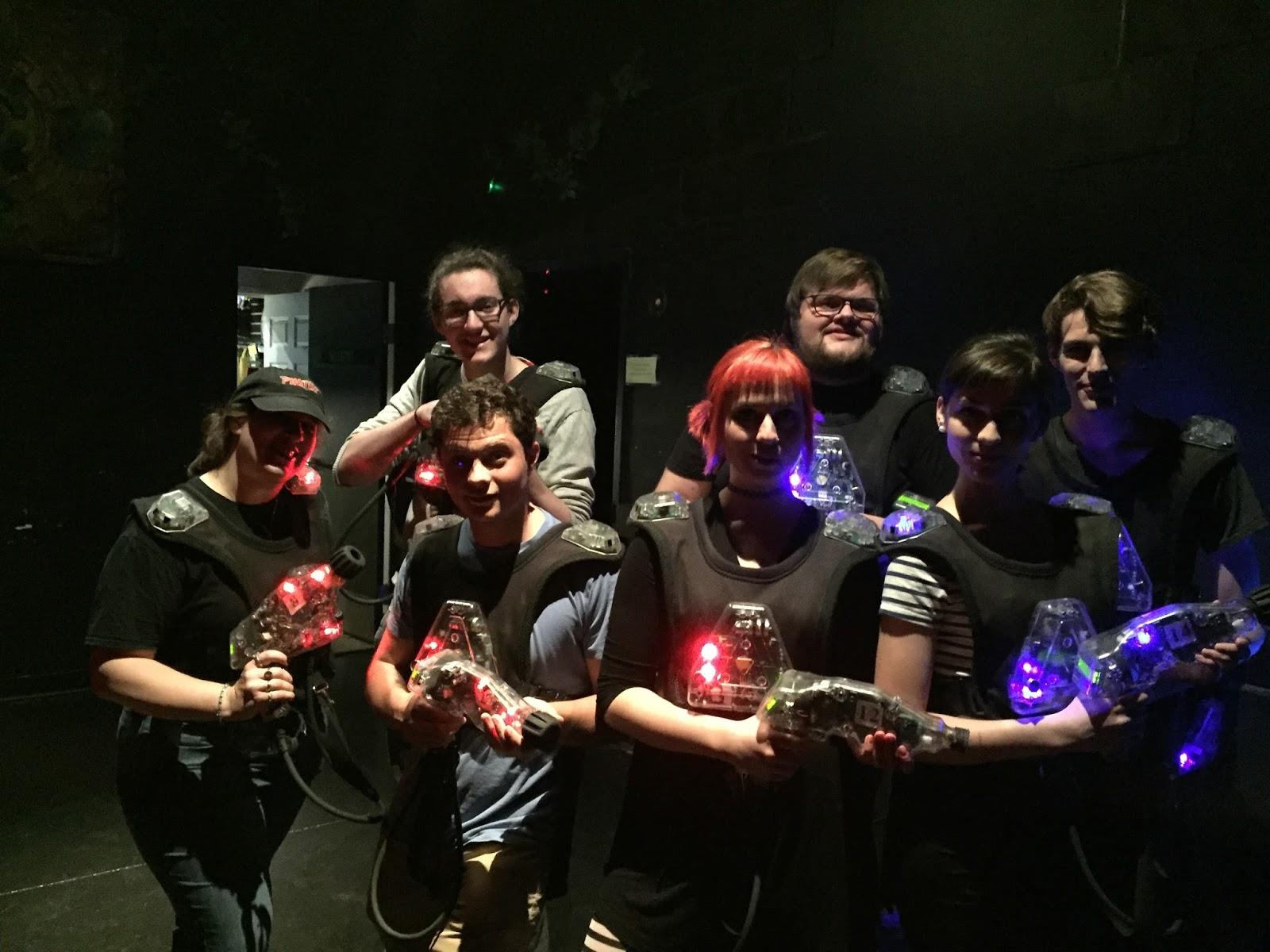 Tiviachick Loves Laser Tag: Frames N Games was a (Hyper) Blast!
