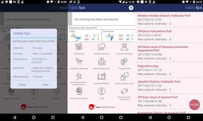 Aplikasi Safety Tips