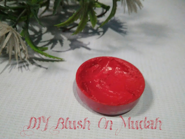 DIY blush on mudah
