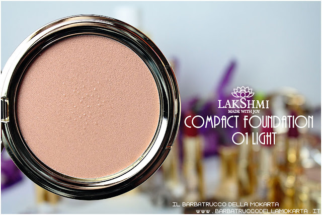compact foundation review   fondotinta compatto lakshmi makeup vegan ecobio
