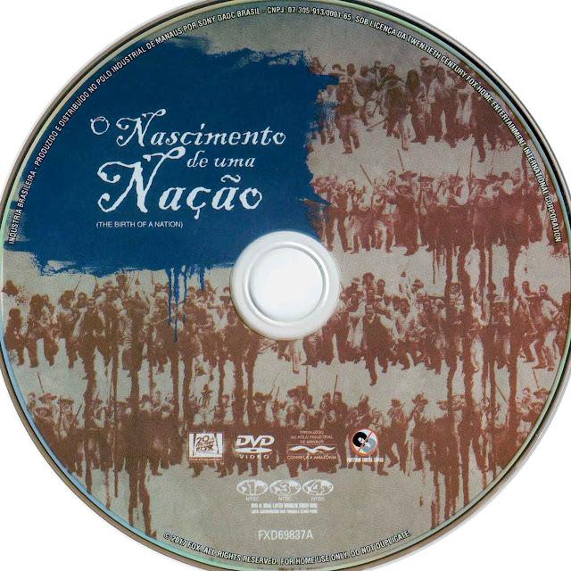 Label DVD O Nascimento de Uma Nação (Oficial)