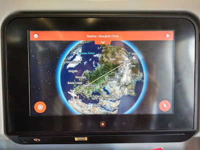 ruta aérea madrid shanghai pantalla individual avión iberia
