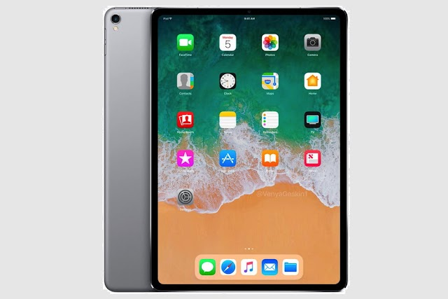 2018 iPad Pro Models To Feature No Headphone Jack And Supports Only Vertical Face Unlock