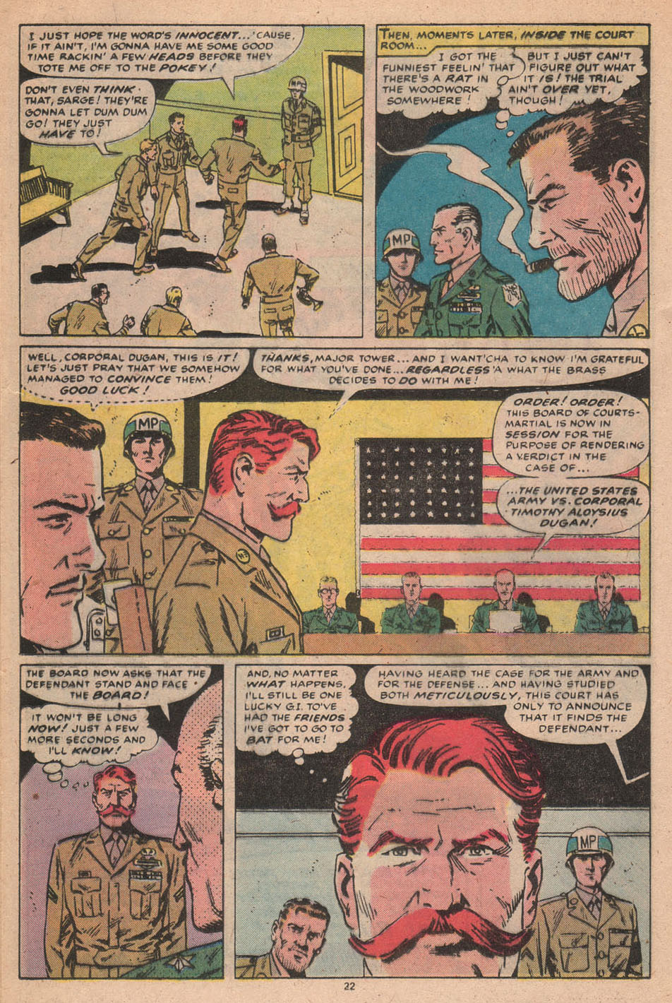 Read online Sgt. Fury comic -  Issue #156 - 23