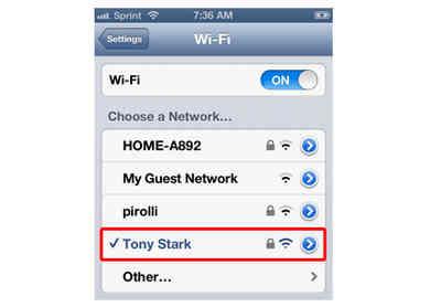 Cara mengetahui alamat ip di iphone