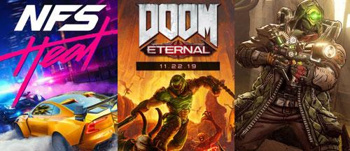 Video Game Trailers: NEED FOR SPEED - HEAT, DOOM ETERNAL