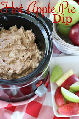 Crock Pot Hot Apple Pie Dip recipe from Served Up With Love