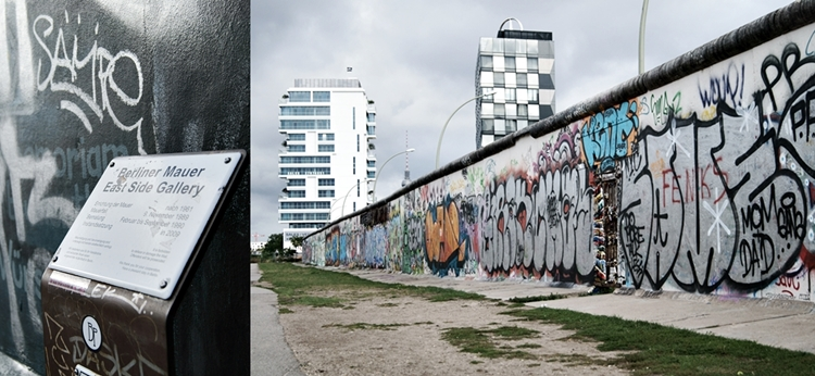 Blog + Fotografie by it's me! - Bloggertreffen in Berlin - Collage Eastside Gallery