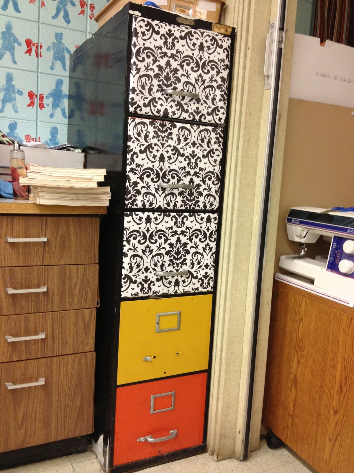 & FACS Classroom Ideas: File Cabinet Upgrade