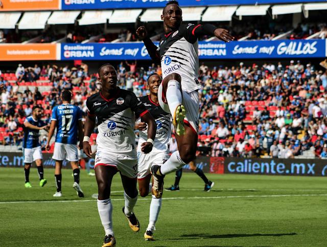 Lobos BUAP venció 4-0 a Querétaro