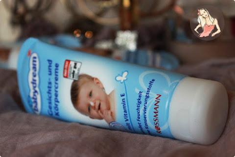 Babydream Gesichts- Und Korpercreme - mój mały niezbędnik :) - czytaj dalej »