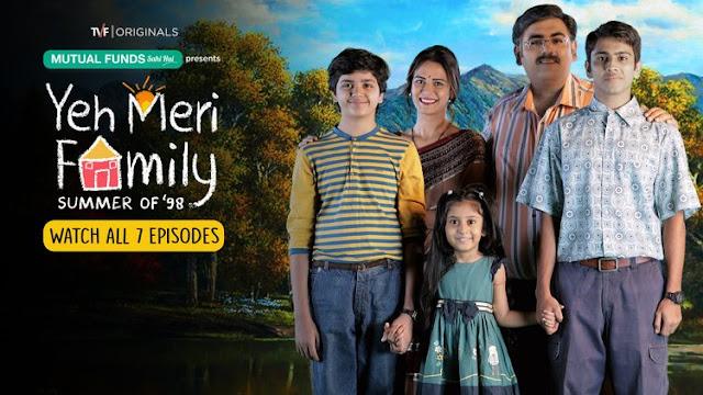 Ye Meri Family Indian Web Series
