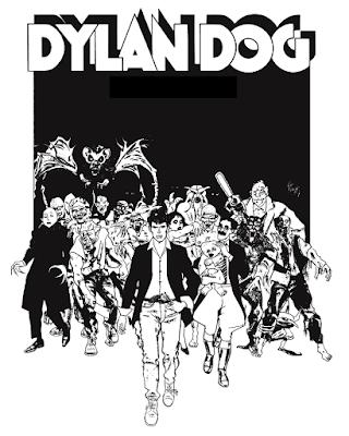 """Dylan Dog: rivisitazione di Angelo Stano de """"Il Quarto Stato"""""""