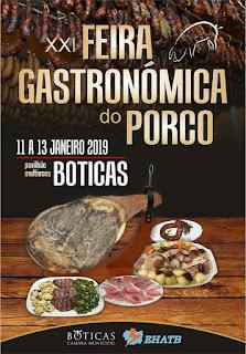 Programa Feira Gastronómica do Porco 2019 em Boticas
