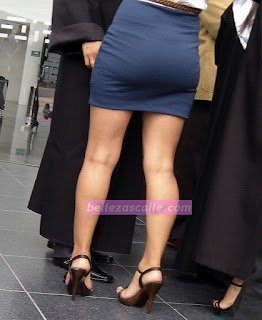 Linda sexy chava mini falda entallada