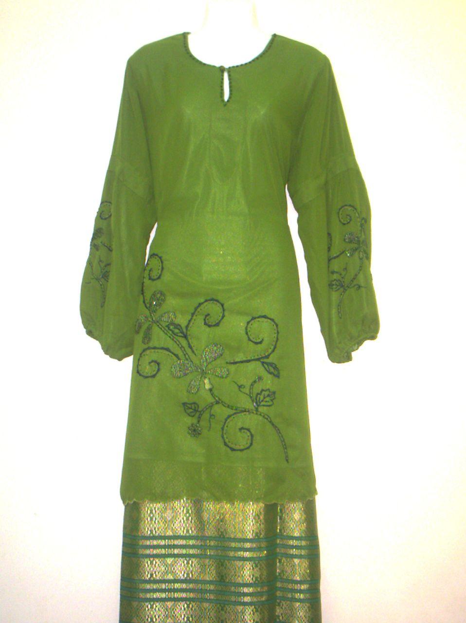12+ Contoh Baju Dinas Model Gamis