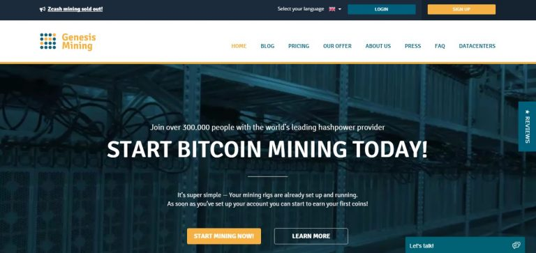 genesis cloud mining service