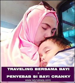traveling bersama bayi 8 bulan
