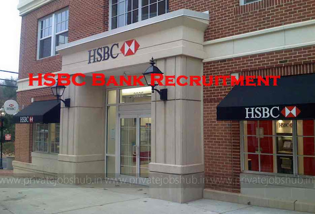 HSBC Bank Recruitment