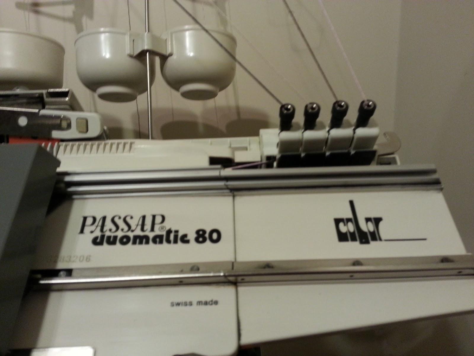 Adventures With Machine Knitting Passap Duomatic 80