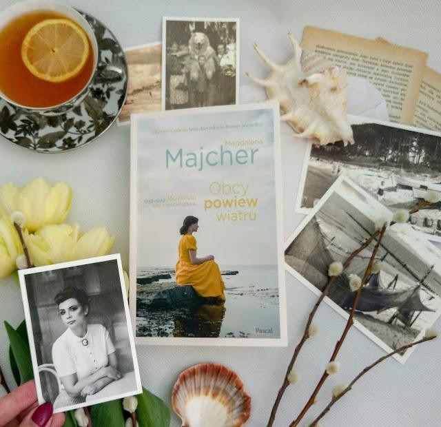 """""""Obcy powiew wiatru"""" - Magdalena Majcher"""