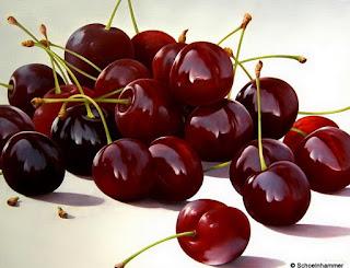 cuadros-con-frutos-rojos-bodegones frutas-pinturas-hiperrealistas