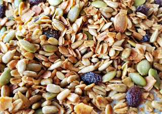 refabulous autumn catch-up post, part 2, homemade granola, allergy-free