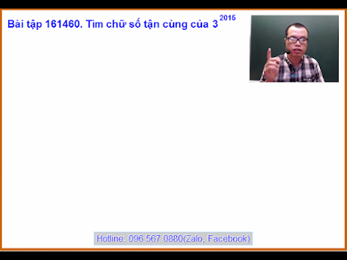 Bài tập 161460