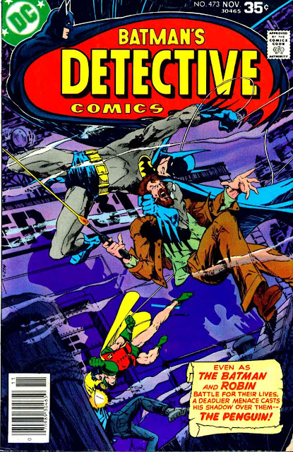 Detective Comics v1 #473 dc comic book cover art by Marshall Rogers