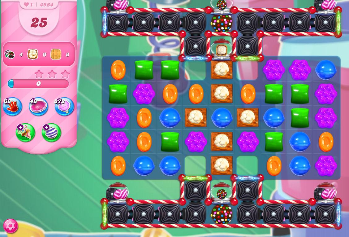 Candy Crush Saga level 4964