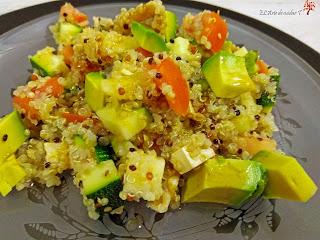 Receta Ensalada de quinoa con aderezo de canela El Arte de cuidar T
