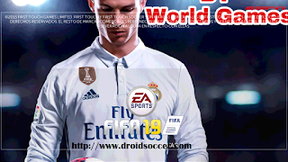 FTS Mod FIFA 19 by WorldGames Apk + Data Obb