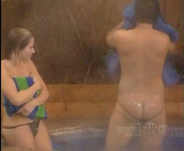Amy fishercaught on tape naked