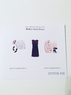October 2017 Stitch Fix Review. Kut from the Kloth Mollee Knit Dress | brazenandbrunette.com