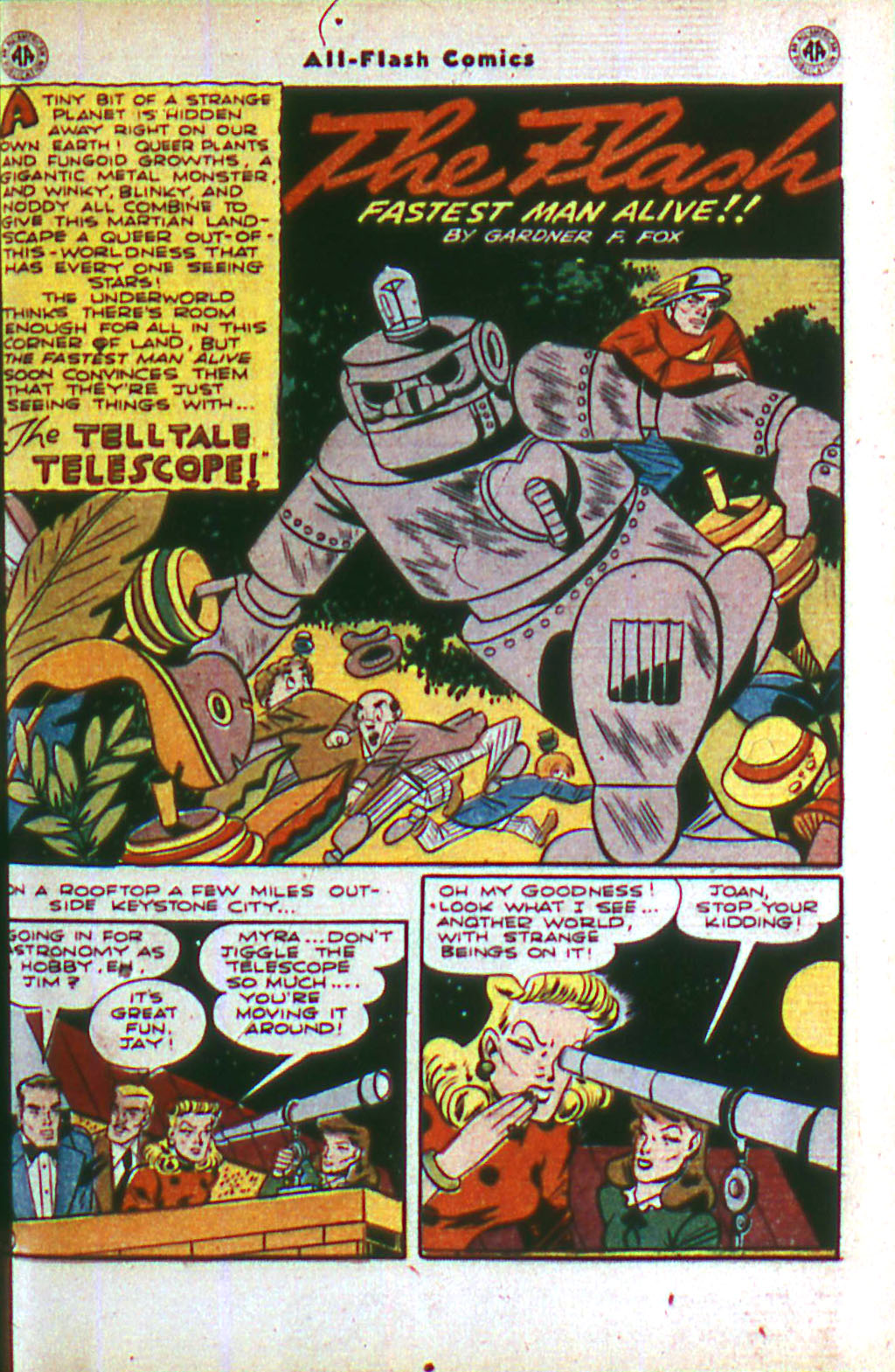 Read online All-Flash comic -  Issue #20 - 3