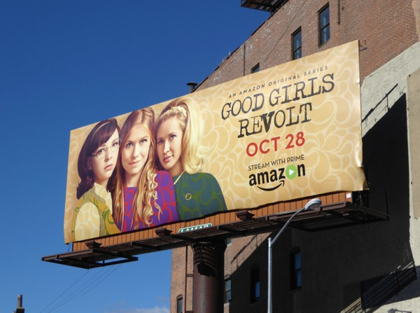 Good Girls Revolt billboard NYC