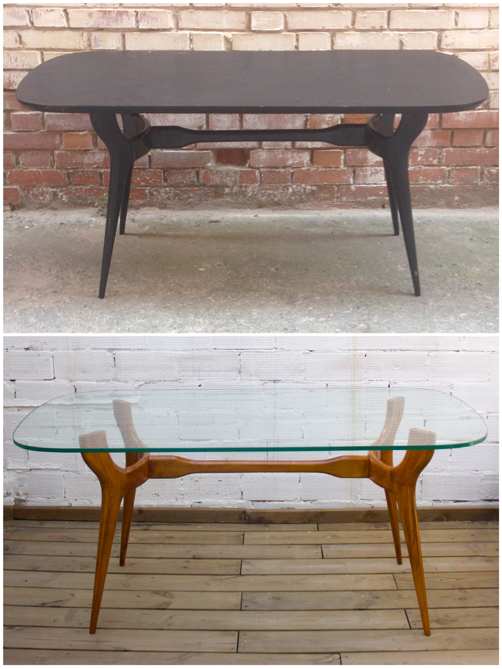 Antes y después - Mesa comedor - Studio Alis