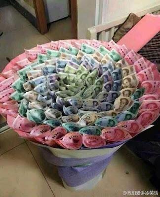 20 bó hoa sinh nhật bằng tiền và đô la độc đáo bá đạo 11
