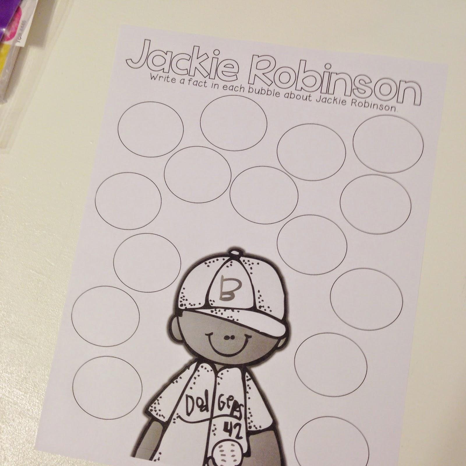 Life In Fifth Grade Jackie Robinson Close Read